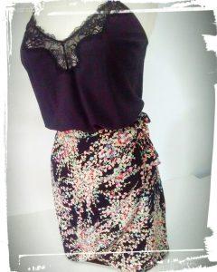 Test patron jupe portefeuille charlotte Auzou hand made fait main couture cousette monblabladefille.com