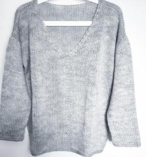 Photo pull Maxou laine karisma drops tuto tricot fiche technique patron monblabladefille.com
