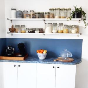 Photo relooking de ma cuisine déco diy intérieur décoration avant après monblabladefille.com