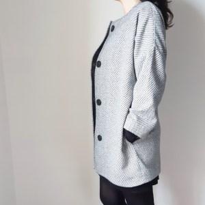 Patron du manteau Sylvette diy hand made notice de montage couture mespatronsdefille makerist tuto sew sewing monblabladefille.com
