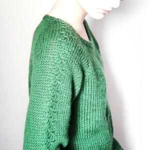 Patron du pull léopold karisma drops top down raglan knit knitting pattern makerist mespatronsdefille monblabladefille.com
