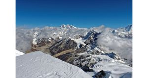Everest depuis le Mera Peak 1