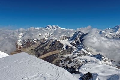 Everest depuis le Mera Peak