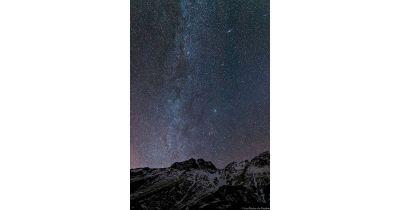 Mail de Bulard et Voie Lactée