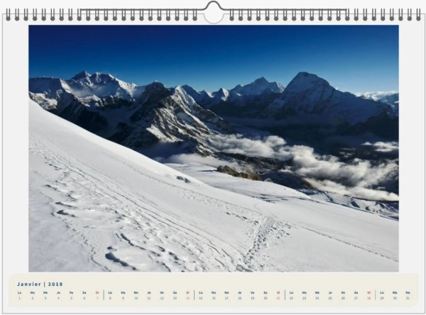 Mera Peak, Népal - 45x30 1