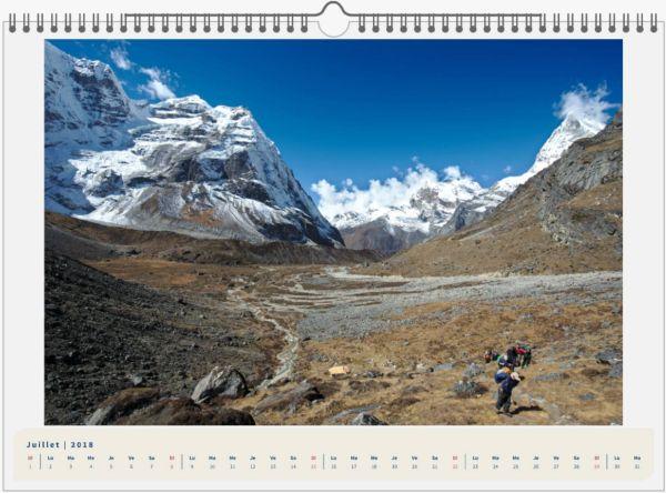 Mera Peak, Népal - 45x30 7