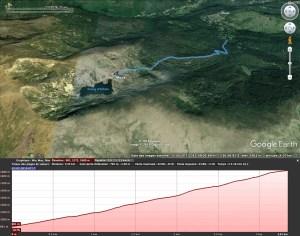 Trace GPX dans Google Earth