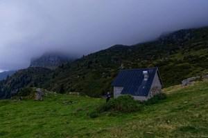 Cabane d'Eliet sur le GR10D