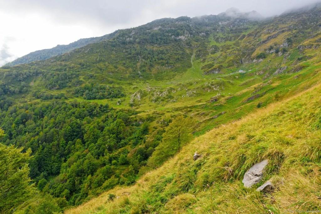 Cabane de Casabede sur le GR10