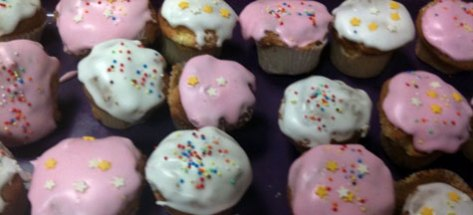 Cupcakes avec glacage