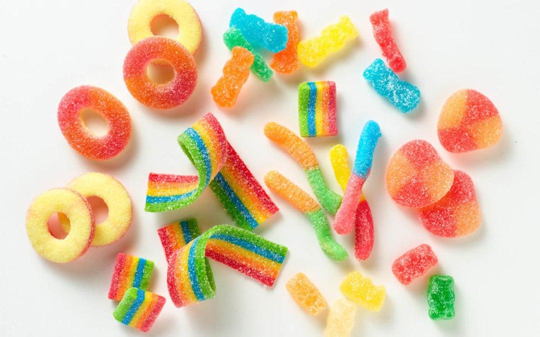 Bonbons acides vegans