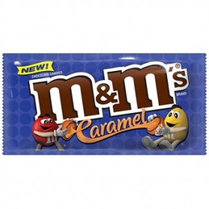 m&ms caramel coulant