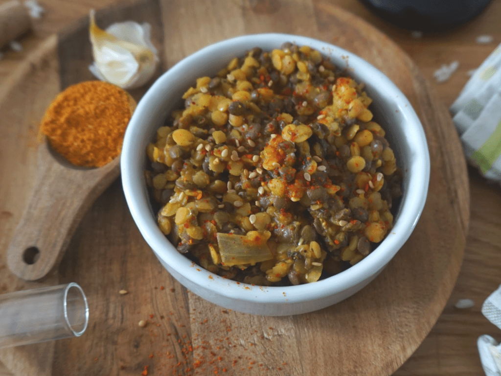 Curry de lentilles à l'indienne
