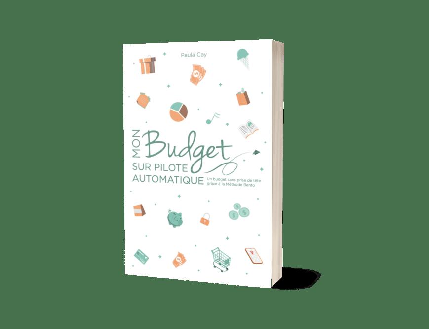 Livre Mon Budget sur pilote automatique j'épargne enfinen 3D