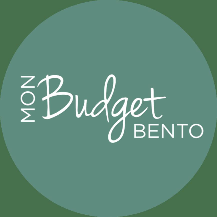 Logo mon budget bento green round
