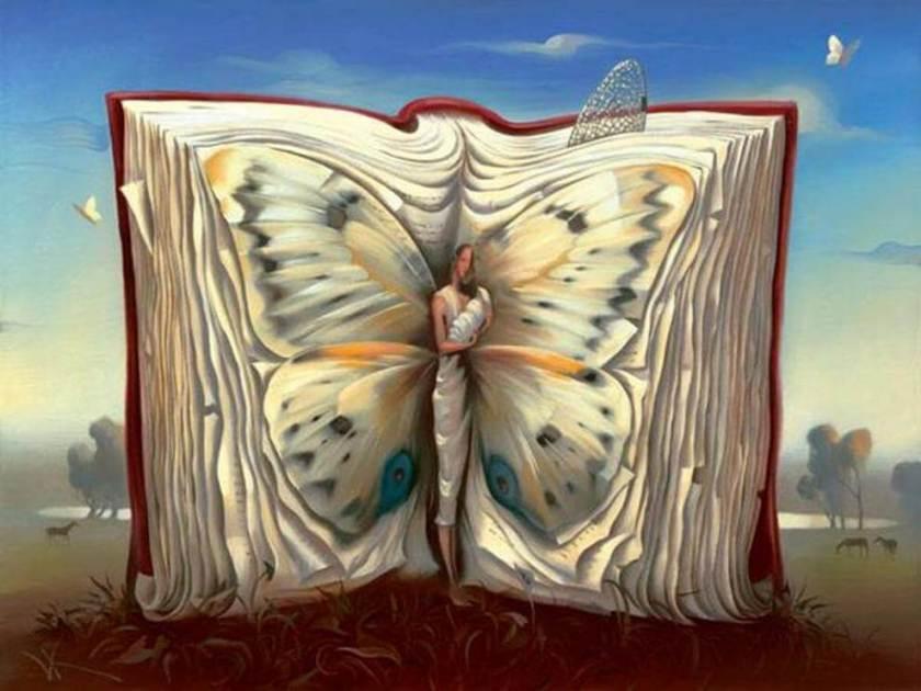 Aimer malgré la distance. La distance n'est qu'une étape de la relation. Oeuvre de Salvador Dali