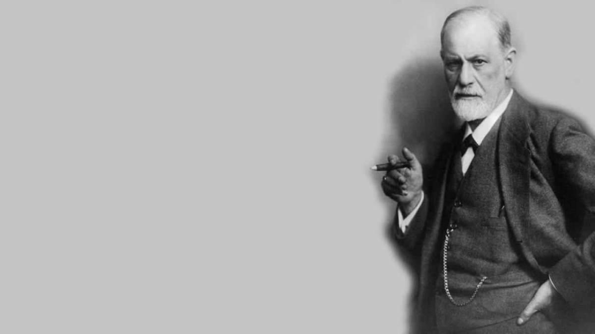 psychanalyse freudienne-mon-carre-de-sable : Portrait de Sigmund Freud