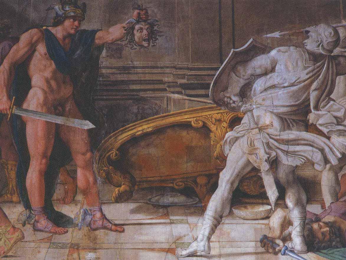 Le mythe de Méduse, Persée  et l'art