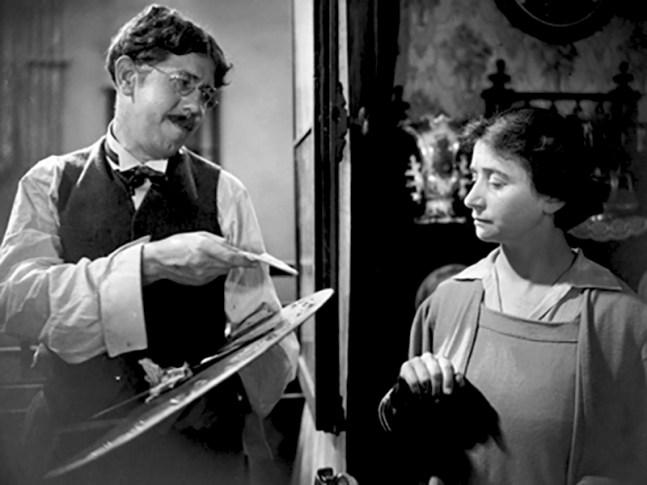 La Chienne de Jean Renoir (1931) adapté du roman éponyme de Georges de la Fouchardière avec Michel Simon, Janie Marèse
