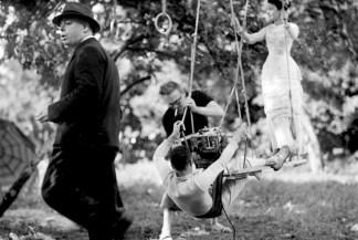 UNE PARTIE DE CAMPAGNE – Jean Renoir (1946) - Photo de tournage