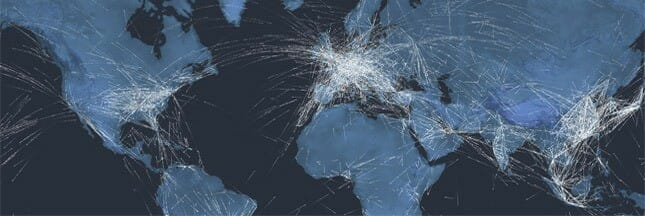 Itinéraires avions
