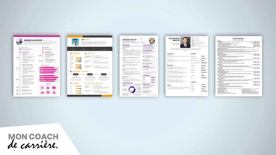 Comparer des exemples de CV