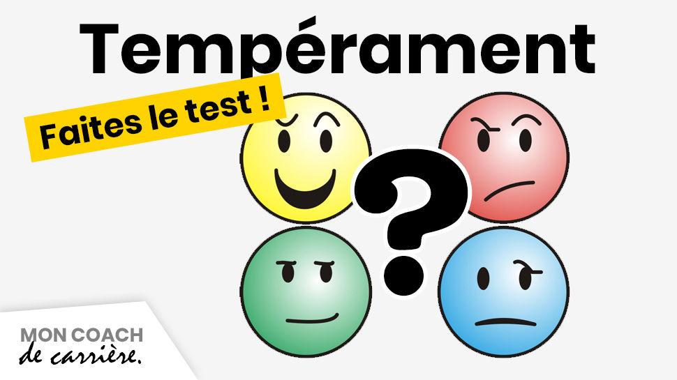test de tempérament