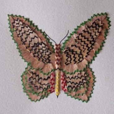 papillon-en-tailles-de-crayon