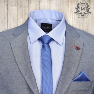 Falcon's királykék nyakkendő