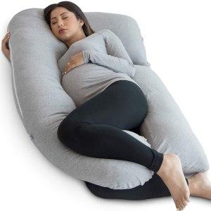 Le coussin de grossesse en forme de U