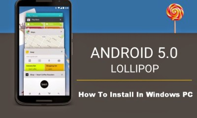 Windows 10 How to Install Android Lollipop Apps on PCs using AMIDuOS