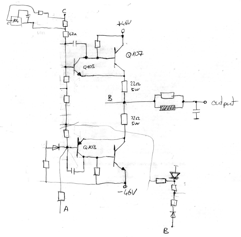 Alesis Ra 100 Schematic