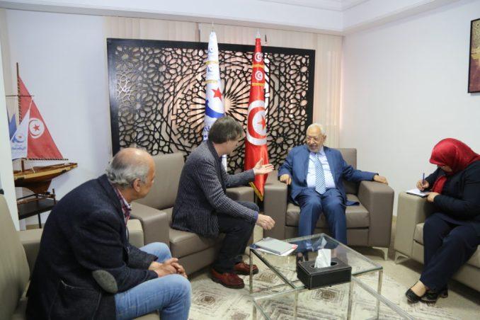 Rached Ghannouchi en rêvait, il est élu à la tète de l'ARP
