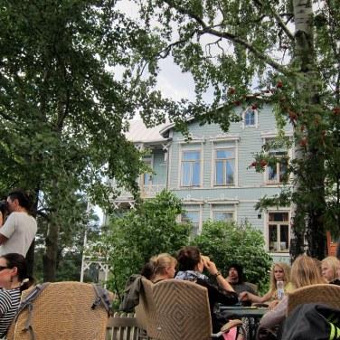 Pause au Blue Villa Café