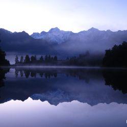 Lac Matheson à 7h du mat
