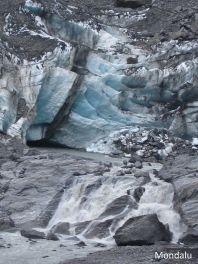 Détail Franz Joseph Glacier