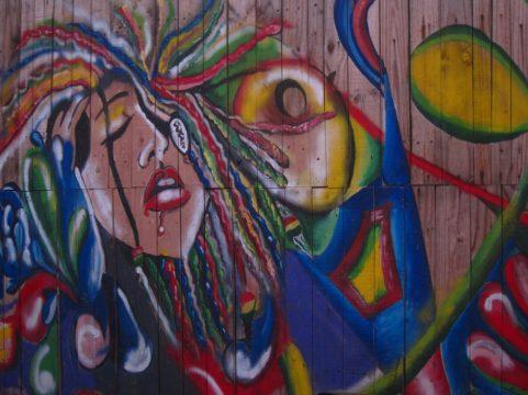 Street art à Jamestown