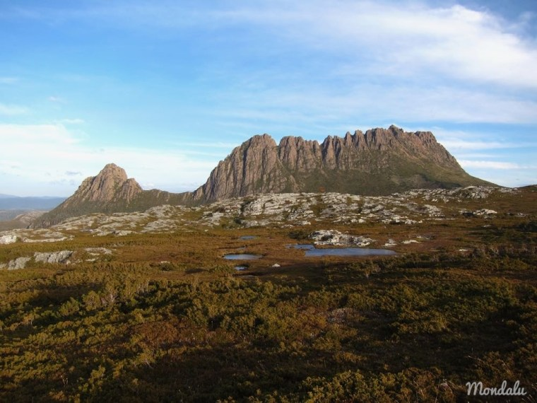 Photo sur sommet de Cradle Mountain en Tasmanie
