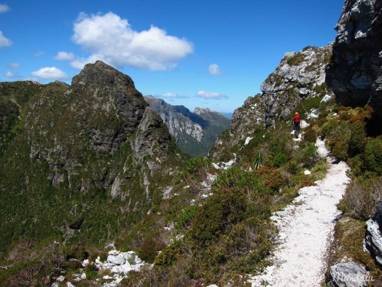 Randonnée sur le sentier du Frenchmans Cap, en Tasmanie