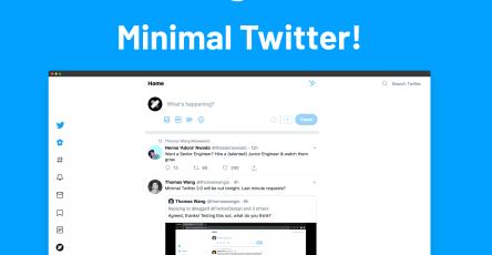 MinimalTwitterPK