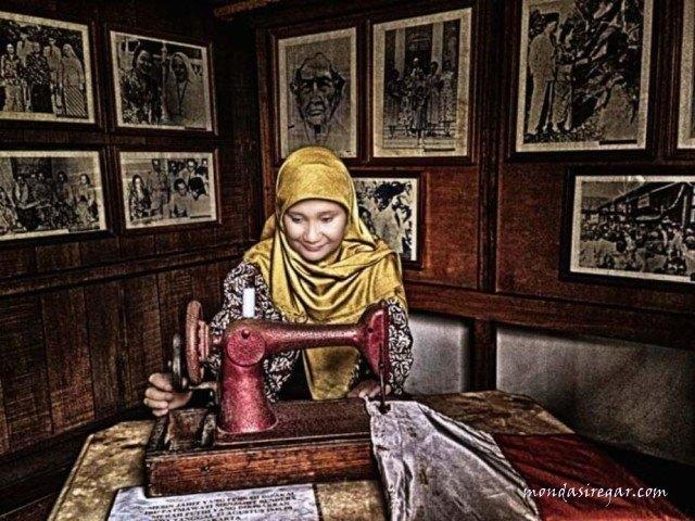 Mesin Jahit Fatmawati Soekarno