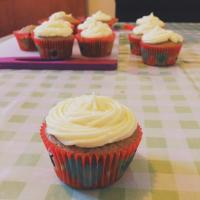 Earl Grey Cupcakes With Lemon Butter Cream Frosting