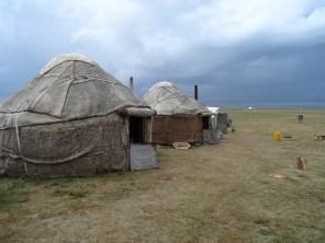 Our humble felt yurts