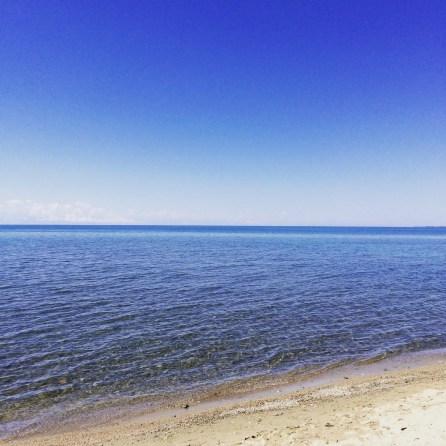 On the beach near Ananievo