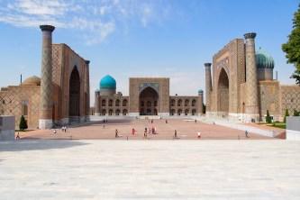 Registan Square, Samarkand, Uzbekistan
