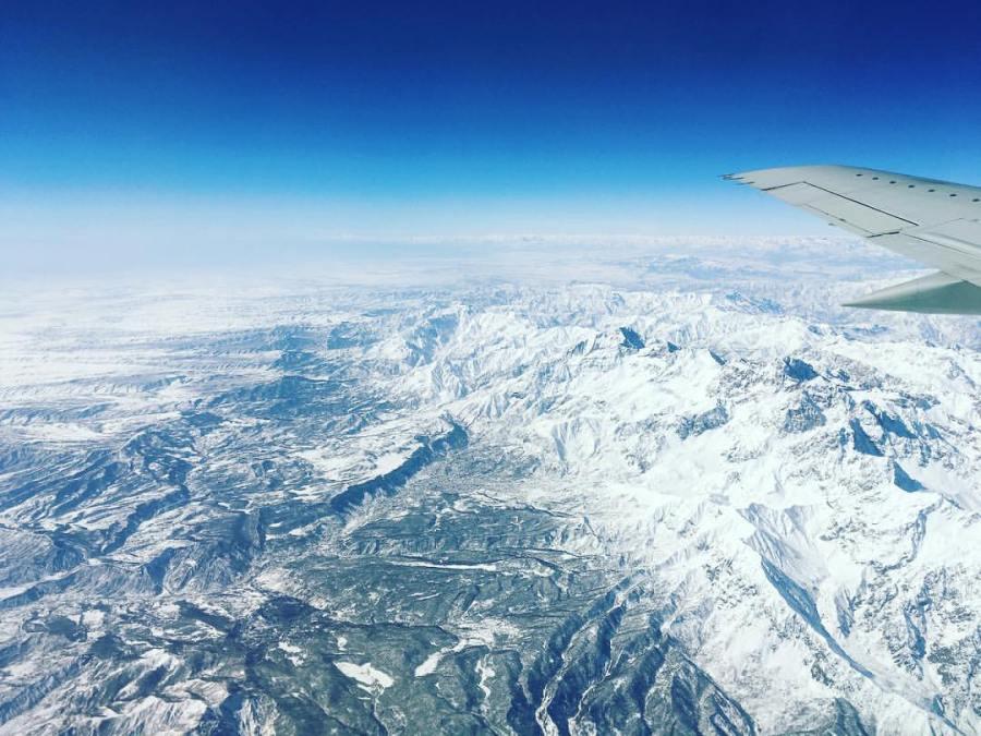 Flying Over Arslanbob