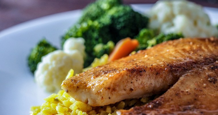 Quick Sweet Orange Savory Tilapia Dinner