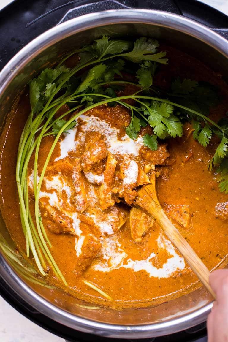 Paleo Instant Pot Butter Chicken