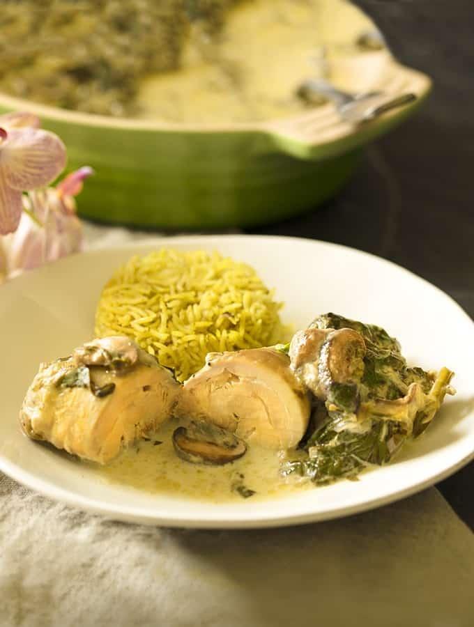 Instant Pot Keto Chicken and Mushroom Recipe