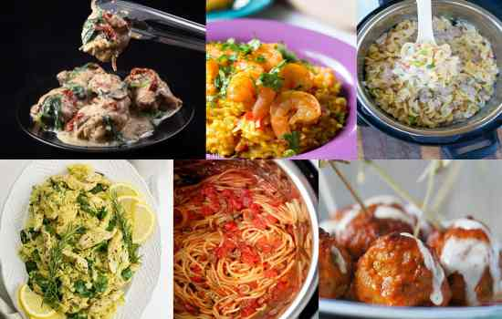 32 Instant Pot Back to School Dinners